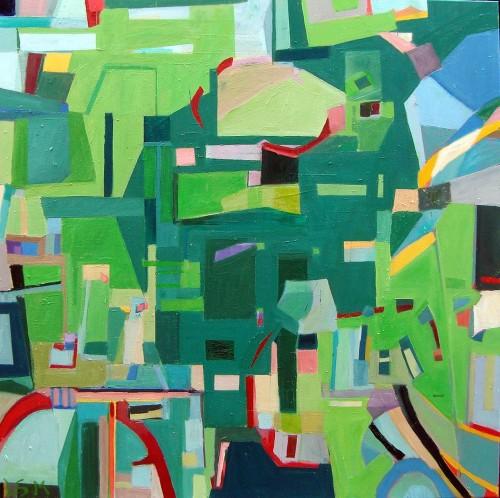 100 x 100 Ud i det grønne