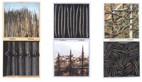 Fotograf: Eget fotoVærk  titel: Fra Sofia til Sortedam Værk  type: Relief Materiale: Foto og gummi Størrelse: 20 x 20 x 3 cm pr. del Færdiggjort: 2000