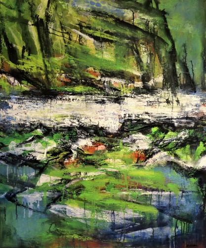 Painting 120 x 100 cm